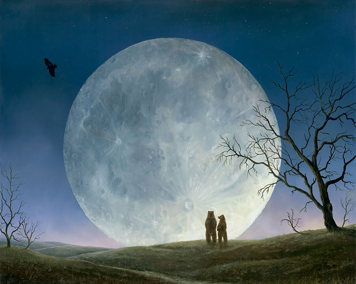 """Ursa Minor"", a painting by Robert Bissell"