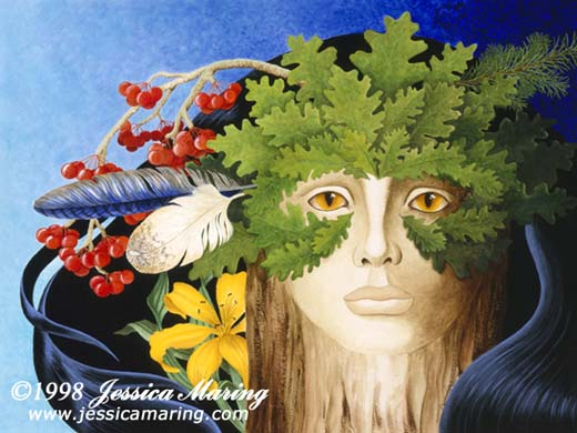 """The Woodwife"", a painting by Jessica Maring"