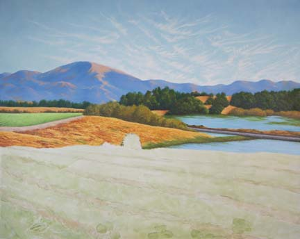"Painting of ""Elkhorn Ranch"""